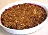 Valentine&#039;s Day Blackberry Crisp